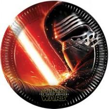 Assiettes en carton Star Wars pour anniversaire enfant
