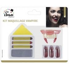 Kit complet de maquillage vampire pour Halloween