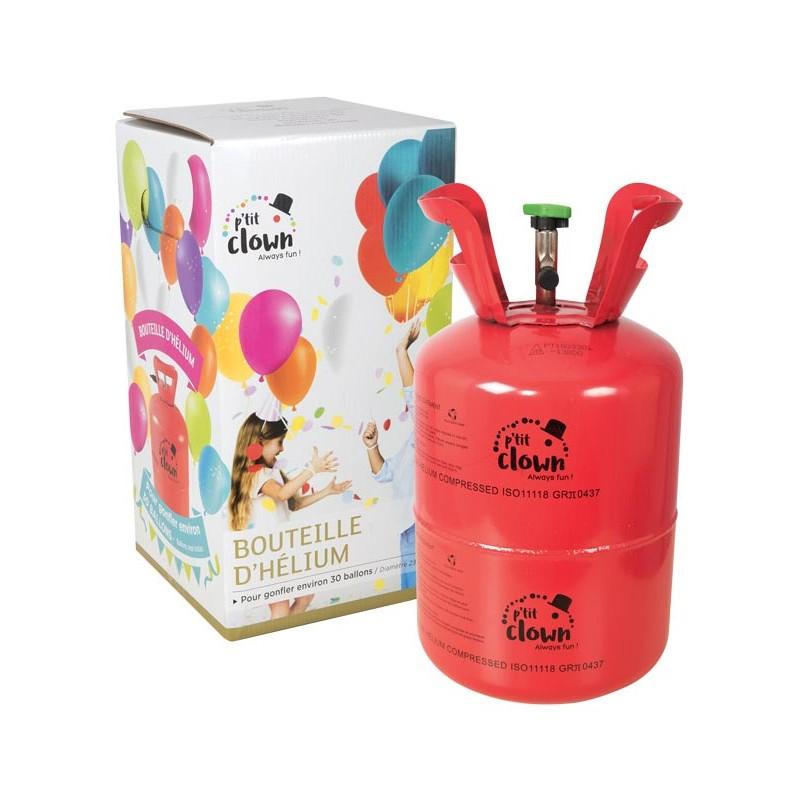 Bonbonne d'hélium pour gonfler 30 ballons