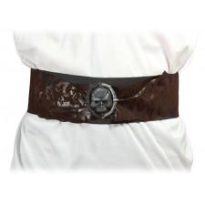 Ceinture de pirate pour compléter un costume adulte