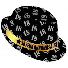 Chapeau 18 ans anniversaire borsalino accessoire