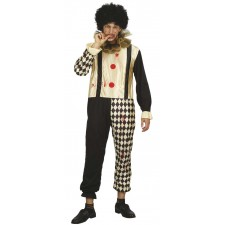 Costume arlequin homme pour Halloween