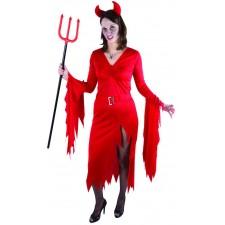 Costume de diablesse femme pour Halloween