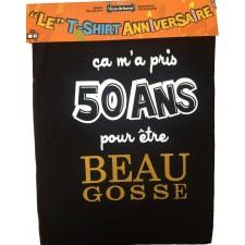 Tee-shirt Anniversaire 50 ans