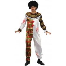 Costume de clown tueur maléfique homme pour Halloween
