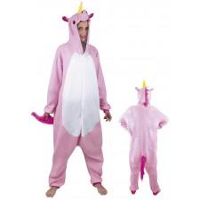 Costume de licorne rose pour adulte