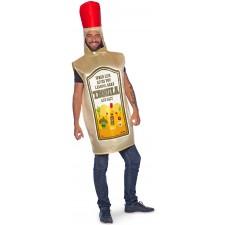 Costume en forme de bouteille de tequila pour adulte