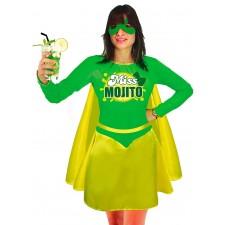 Costume miss mojito humoristique thème alcool