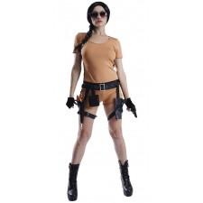 Costume aventurière femme style Tomb Raider