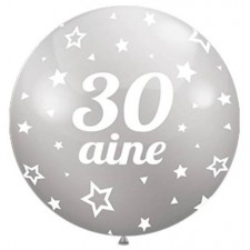 Ballon géant 30 ans pour décoration d'anniversaire