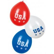 Ballons pour soirée thème USA Etats-Unis