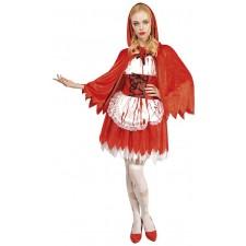 Déguisement Halloween petit chaperon rouge femme