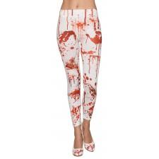 Leggings Halloween ensanglanté accessoire de déguisement