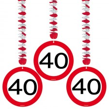Suspensions d'anniversaire 40 ans