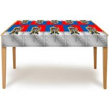 Nappe de protection de table chevalier anniversaire