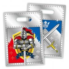 Pochettes cadeaux chevalier anniversaire enfant