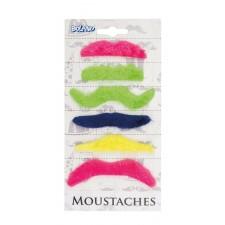 Fausses moustaches adhésives