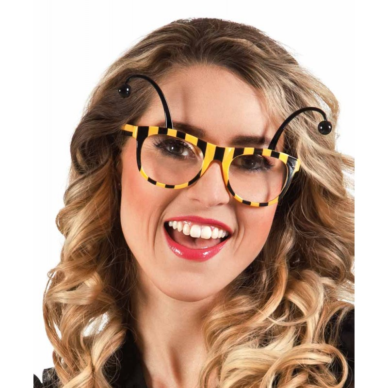 Accessoire lunettes abeille