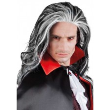 Perruque Halloween vampire Dracula