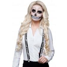 Bretelles os squelette halloween