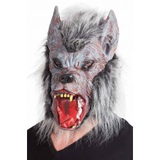 Masque de loup-garou latex Halloween