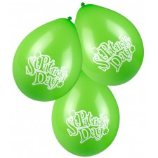 Ballons Saint-Patrick en latex