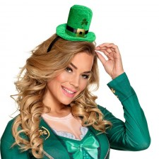 Serre-tête chapeau accessoire Saint-Patrick