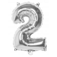 Ballon en forme de chiffre 2
