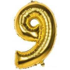 Ballon Aluminium Chiffre 9...