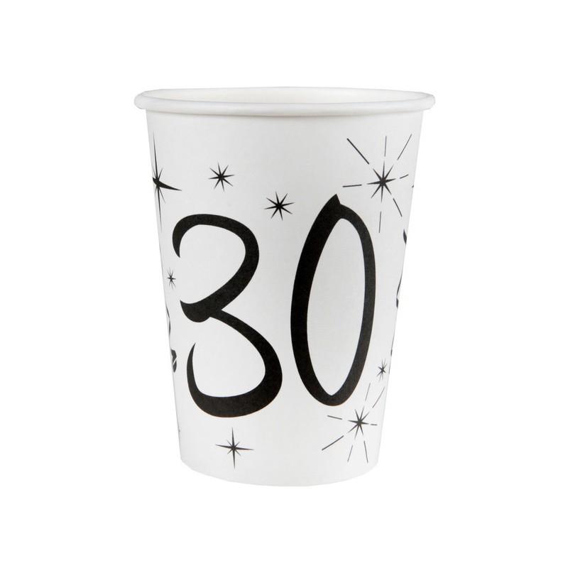 Gobelets pour anniversaire 30 ans