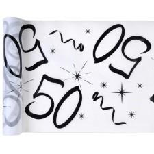 Chemin de table 50 ans pour anniversaire