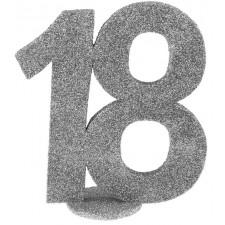 Petite décoration de table d'anniversaire 18 ans