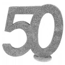 Déco de table d'anniversaire 50 ans