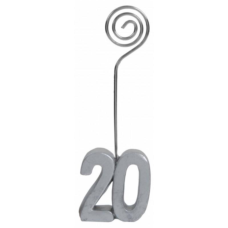 Marque-place 20 ans anniversaire par deux