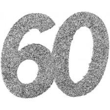 Confettis de table d'anniversaire 60 ans