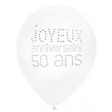 Ballons joyeux anniversaire 50 ans