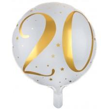 Ballon hélium pour anniversaire 20 ans