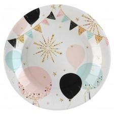 Assiettes pastel pour anniversaire