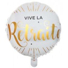 Ballon mylar pour départ à la retraite