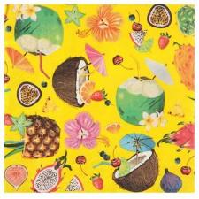 Serviettes de table thème Hawaï