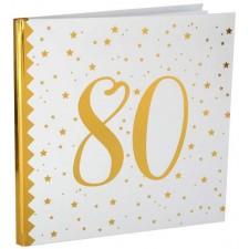 Livre d'or pour anniversaire 80 ans