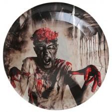 Assiettes en carton pour Halloween zombies
