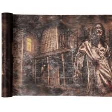 Chemin de table pour Halloween zombies