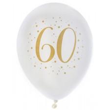 Ballons 60 ans pour anniversaire