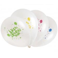 Ballons couleurs pour anniversaire enfant
