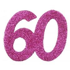 Confettis de table pour anniversaire 60 ans