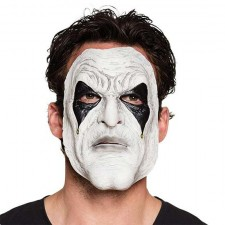 Masque pierrot en latex pour Halloween