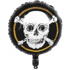 Ballon alu anniversaire sur le thème des pirates