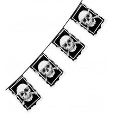 Banderole pirate pour soirée à thème ou anniversaire