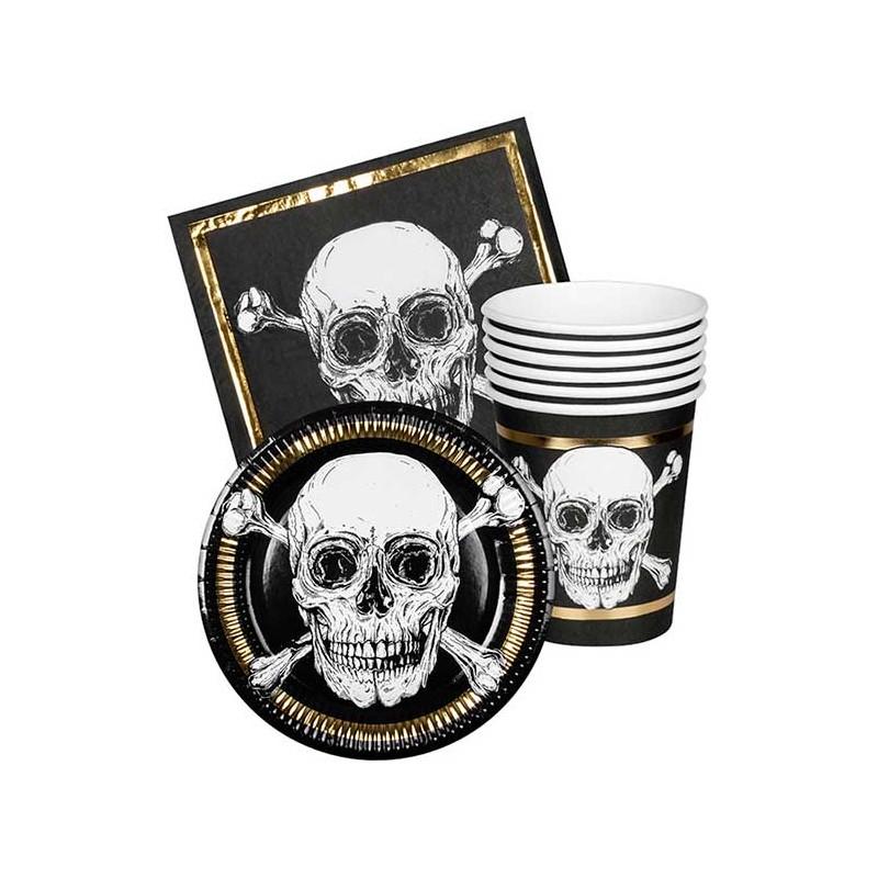 Kit complet pour anniversaire sur le thème des pirates